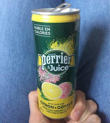 Perrier & Juice aux jus de Citron & Goyave - Product - fr