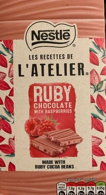 L'atelier Ruby Chocolate with Raspberries - Prodotto - en
