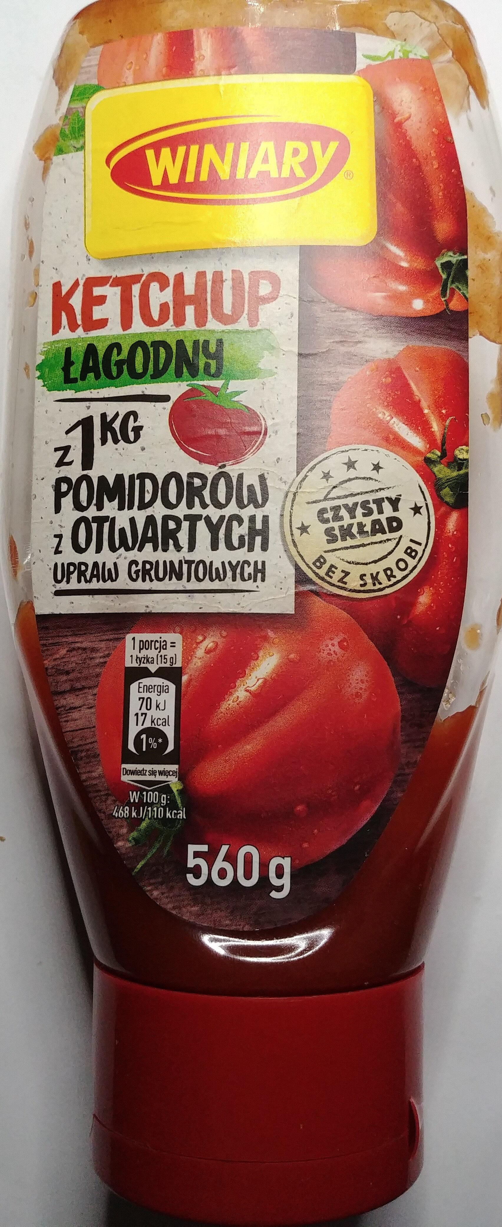 Ketchup łagodny - Produit - pl