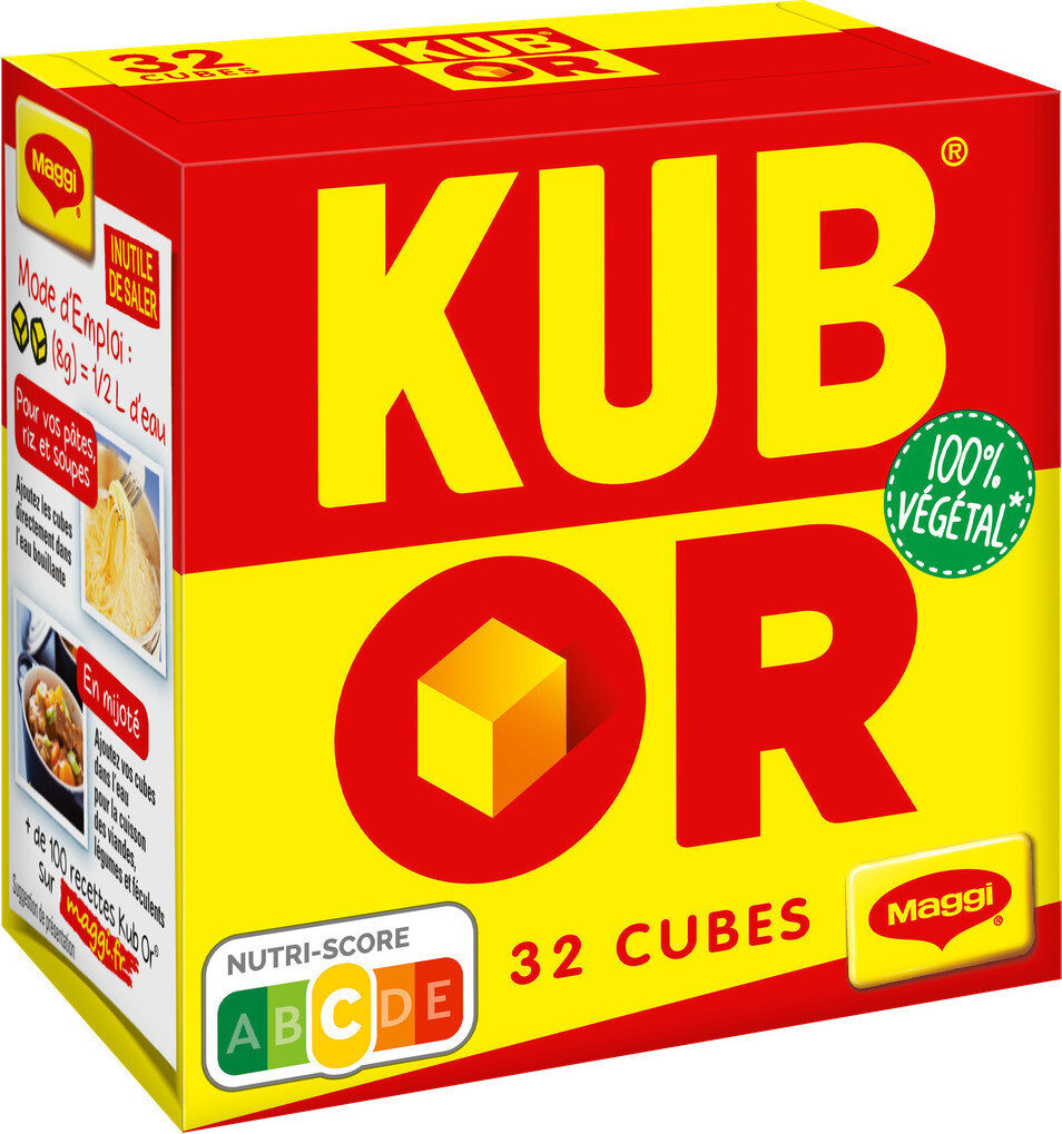 KUB OR bouillon - Product - fr