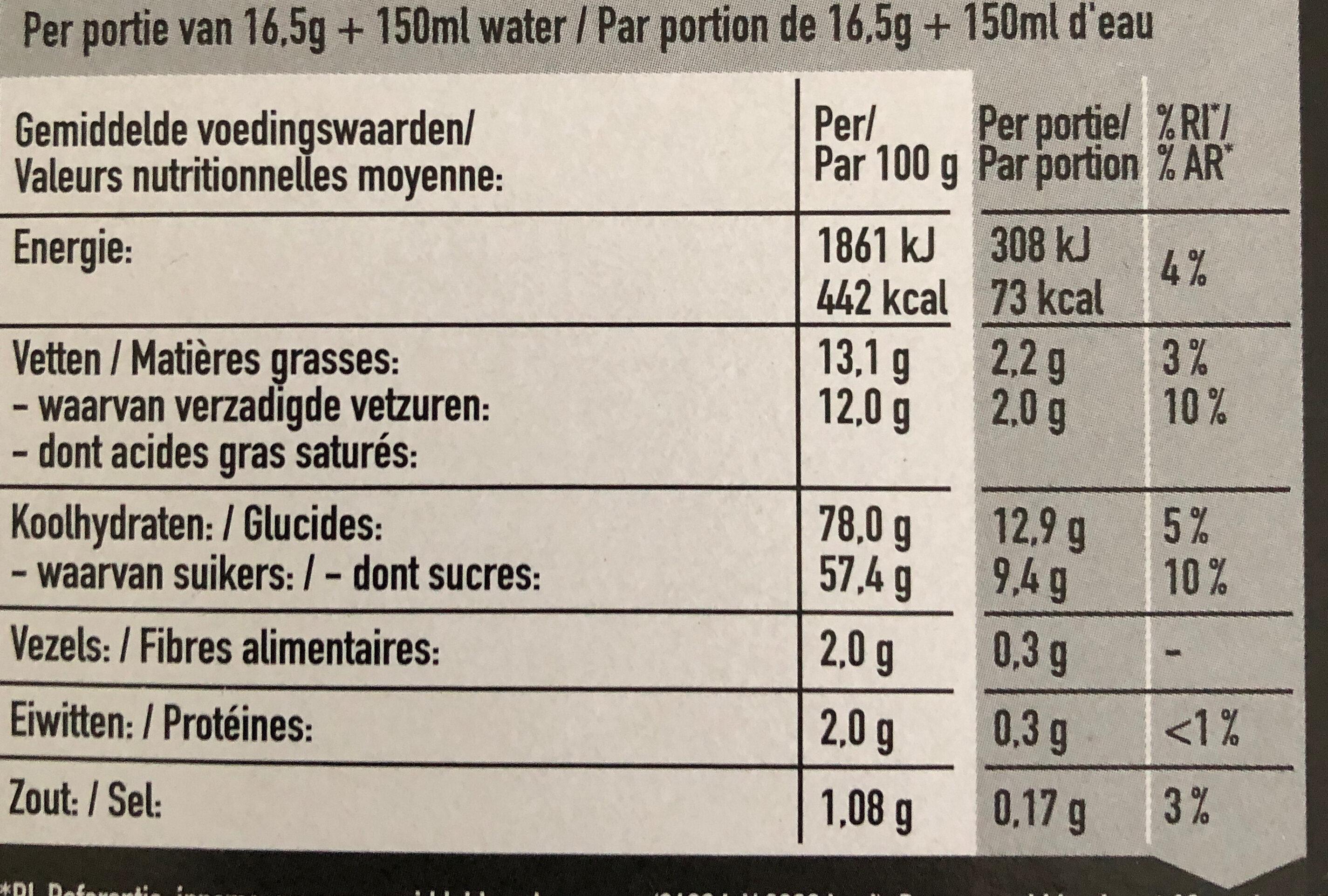 Nescafé - Ingrediënten