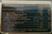 After Eight Orange & Mint Flavour - Informations nutritionnelles - es