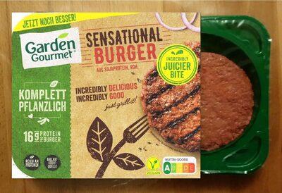 Sensational Burger aus Sojaprotein, roh - Prodotto - de