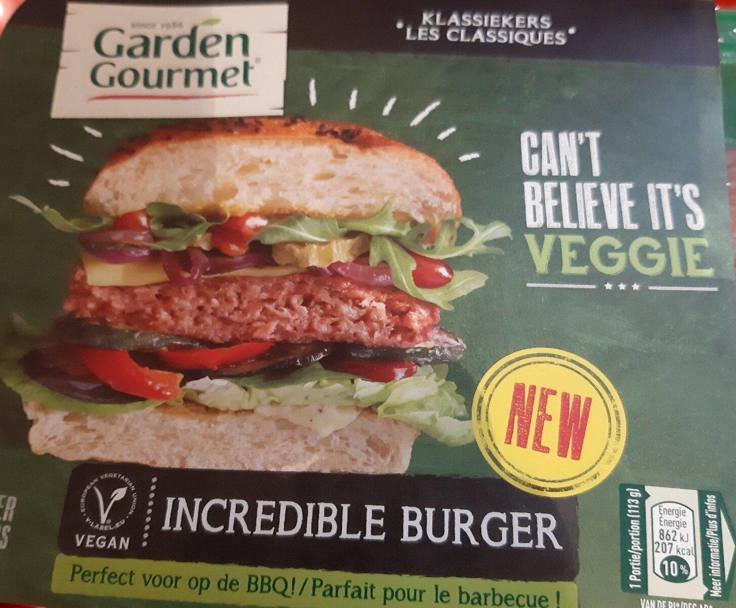 Incredible burger - Product