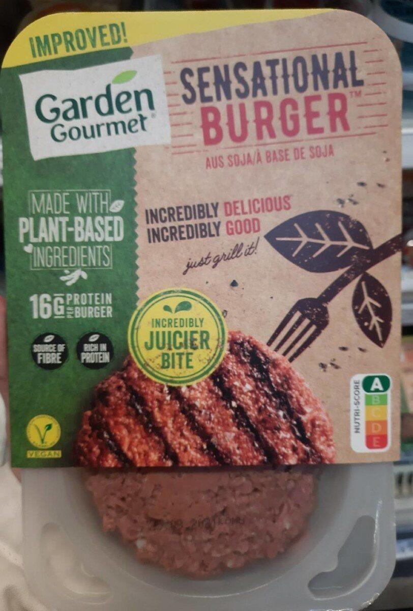 Sensational burger - Product - de