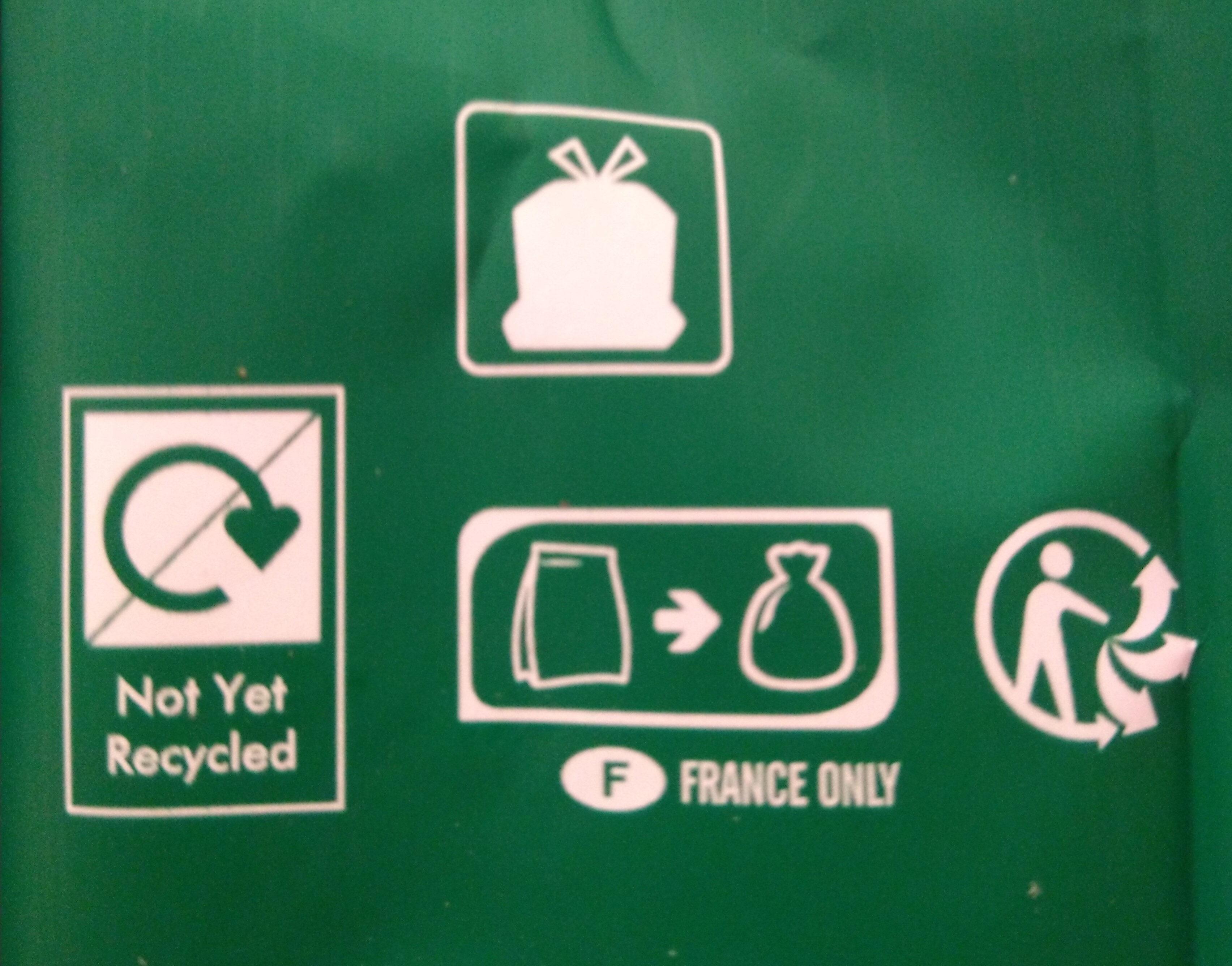 STARBUCKS café en grains dark blonde espresso - Istruzioni per il riciclaggio e/o informazioni sull'imballaggio - fr