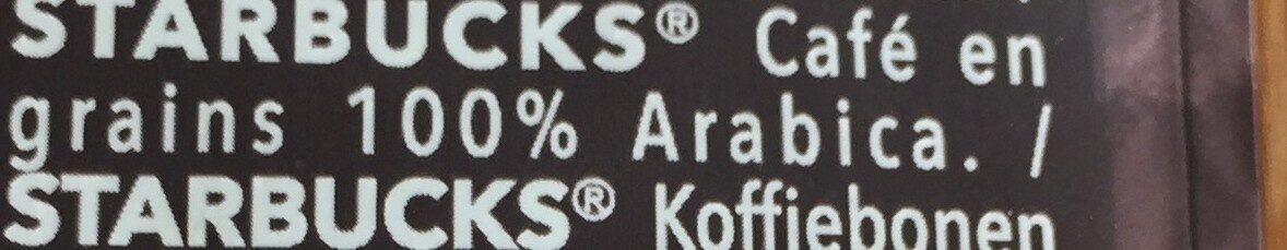 Expresso roast en grains - Ingrediënten