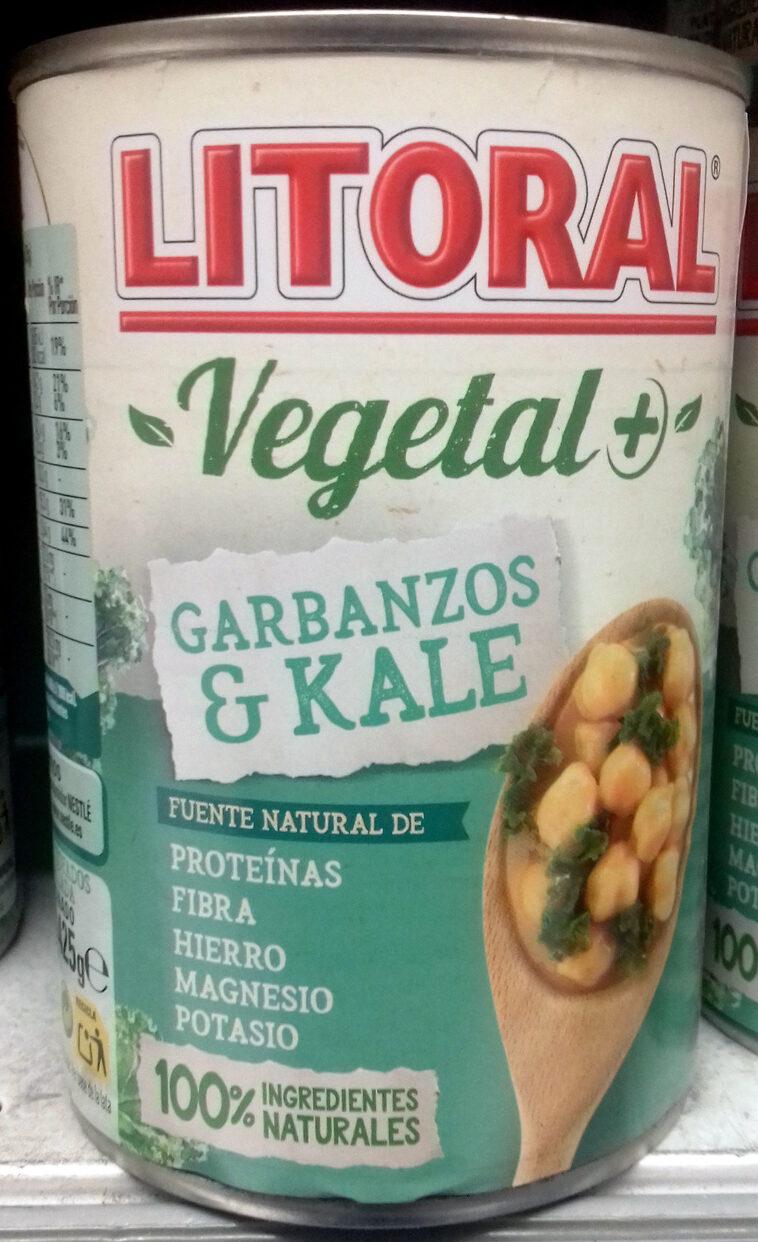 Vegetal garbanzos & kale - Produit - es