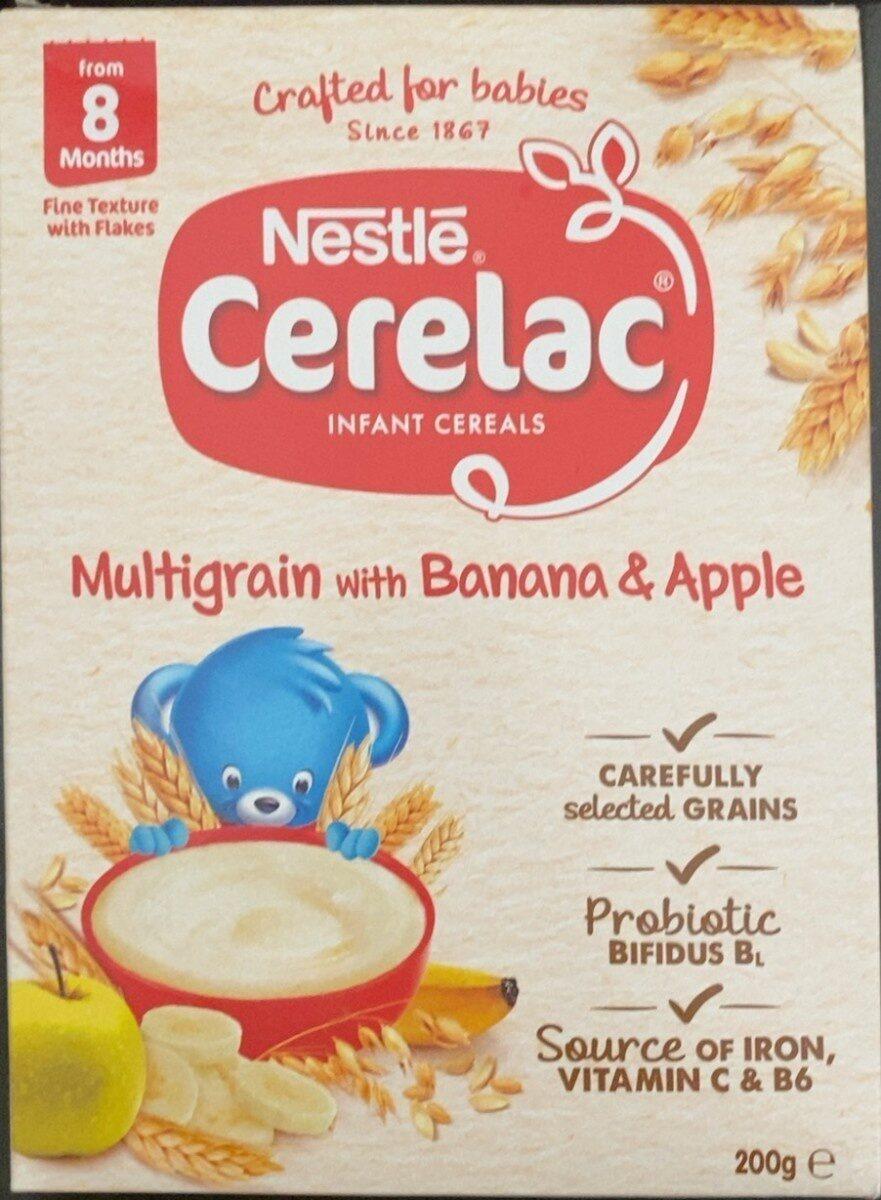Multigrain with banana & apple - Prodotto - en