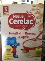 Cerelac muesli with banana and apple - Product - en