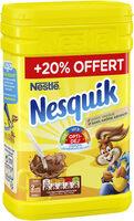 NESQUIK Poudre cacaotée boîte 1Kg + 20% offert - Produit - fr