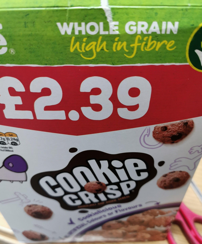 Nestle cookie cerial - Product - en