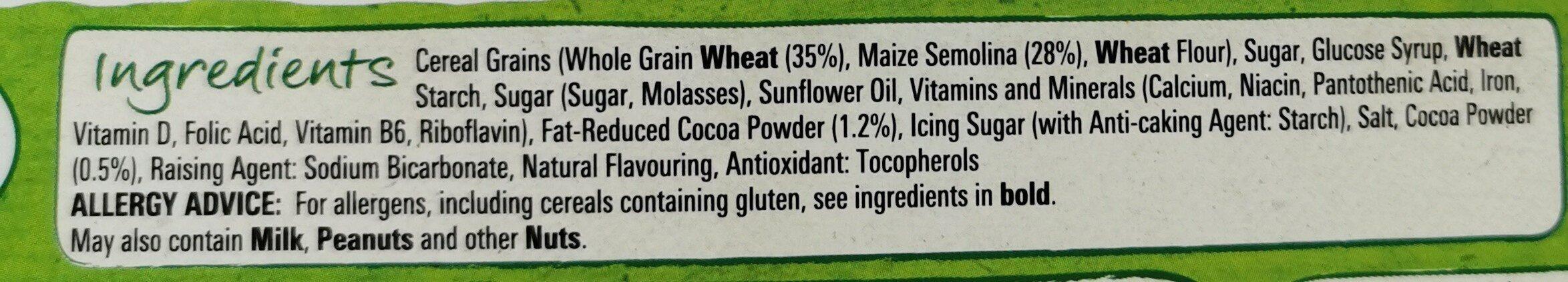 Nestle cookie cerial - Ingredients - en