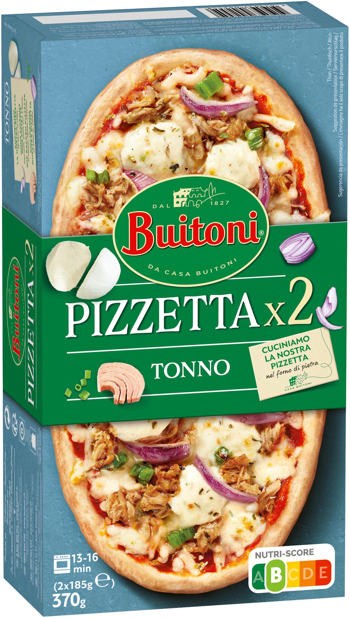 BUITONI PIZZETTA Tonno 2X185g - Prodotto - fr