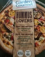 Hummus lovers pizza - Product - fr