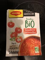 Bouillon Bio tomates et vermicelles - Prodotto - fr