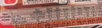 LE BON PARIS jambon sel réduit cons.ss nitrite - Valori nutrizionali - fr