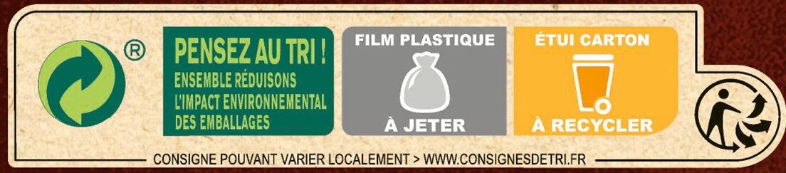 NESTLE CHOCAPIC Céréales 645g PRIX CHOC - Istruzioni per il riciclaggio e/o informazioni sull'imballaggio - fr