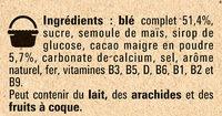 NESTLE NESQUIK Céréales 950g XXL - Ingredienti - fr