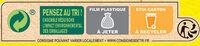 NESTLE NESQUIK Céréales 950g XXL - Istruzioni per il riciclaggio e/o informazioni sull'imballaggio - fr