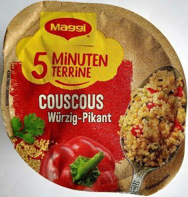Couscous - würzig-pikant - Produkt - de