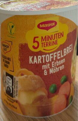 Kartoffelbrei mit Erbsen & Möhren - Produit - de