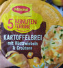 5 Minuten Terrine Kartoffelbrei mit Röstzwiebeln Croûtons - Product