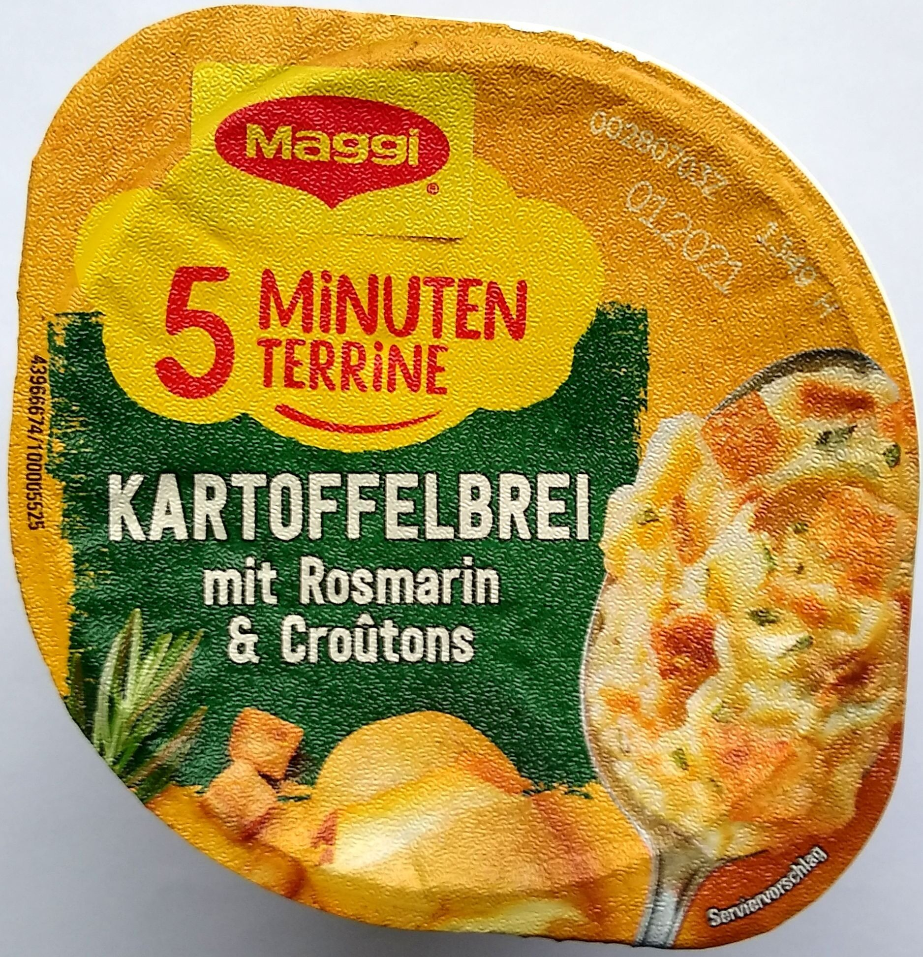 Kartoffelbrei mit Rosmarin und Croûtons - Produit - de