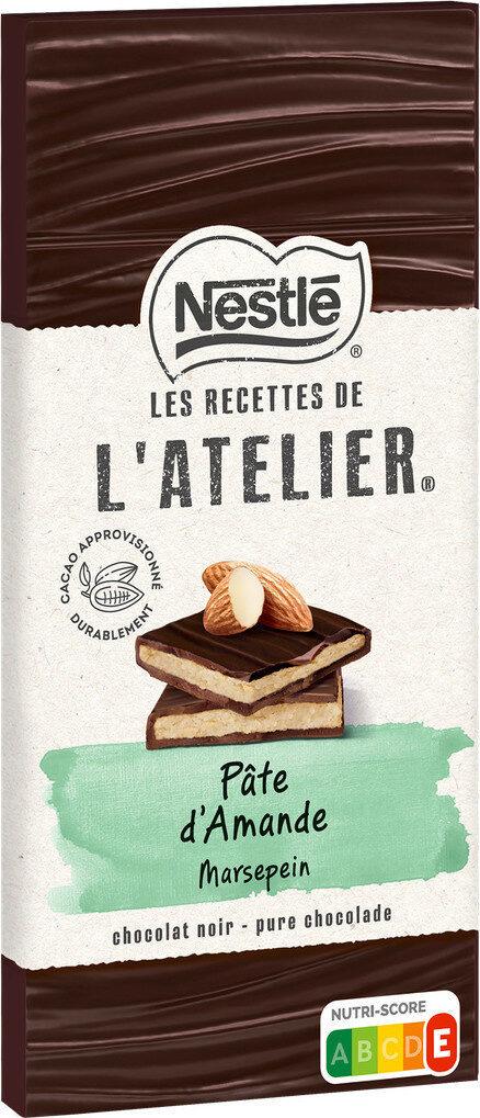 Chocolat noir extra-fin fourré à la pâte d'amande - Prodotto - fr