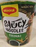 Saucy Noodles Teriyaki - Produkt - de