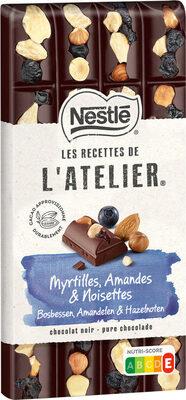 Myrtilles, Amandes & Noisettes - Prodotto - fr