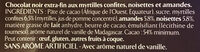 Myrtilles, Amandes & Noisettes - Ingredienti - fr