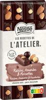 L'ATELIER Chocolat noir raisin nois.amandes - Prodotto - fr