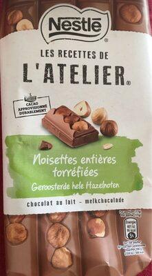 Noisettes entière torréfiées Chocolat au lait - Produit - fr