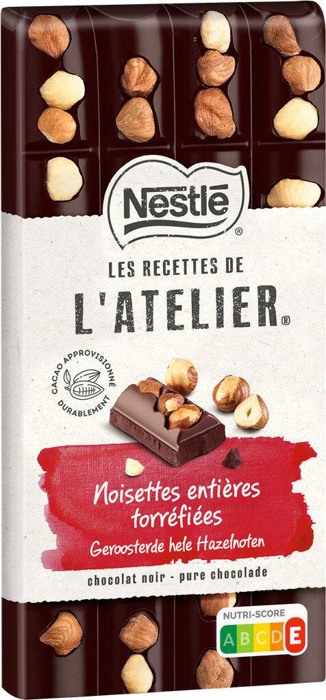 L'ATELIER chocolat noir noisettes - Prodotto - fr