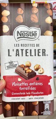 Noisettes entières torréfiées Chocolat noir - Produit - fr
