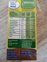 Boisson lactée au cacao - Voedingswaarden - fr