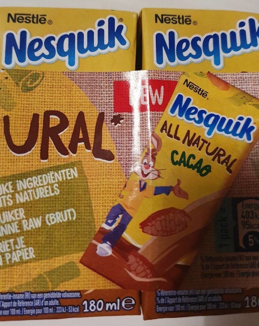 Nesquik All Natural Cacao - Product - fr