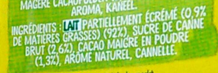 Nesquik All Natural Cacao - Ingredients - fr