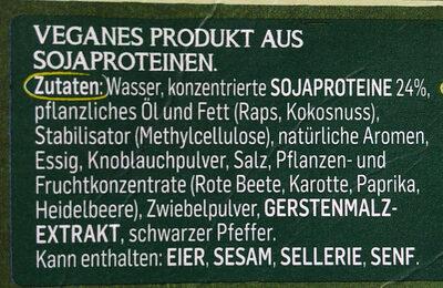 Incredible Gehacktes/Haché - Ingredients - de