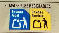 Extrafino con relleno cremoso y trocitos de galleta - Instrucciones de reciclaje y/o información de embalaje - es