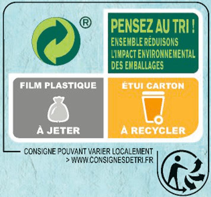 NESTLE NAT Chocolat et Fraises céréales - Instruction de recyclage et/ou informations d'emballage - fr