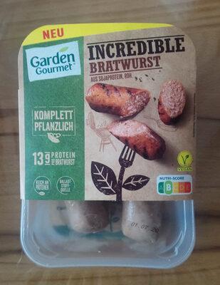 Incredible Bratwurst - Produit - de