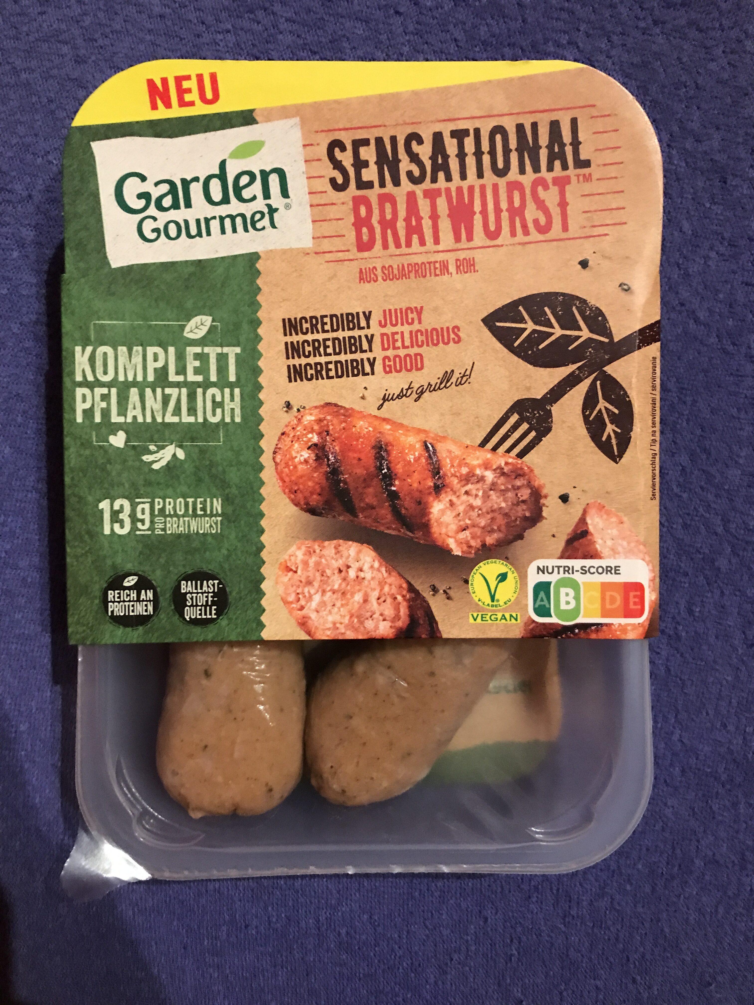 Incredible Bratwurst - Product - en