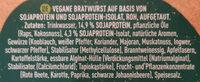 Incredible Bratwurst - Ingrédients - de