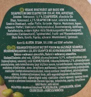 Incredible Bratwurst - Ingredientes - es