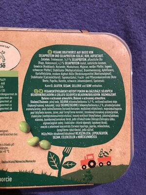 Incredible Bratwurst - Recycling instructions and/or packaging information - en