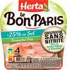 LE BON PARIS Jambon cons.ss nitrite sel réduit - Product