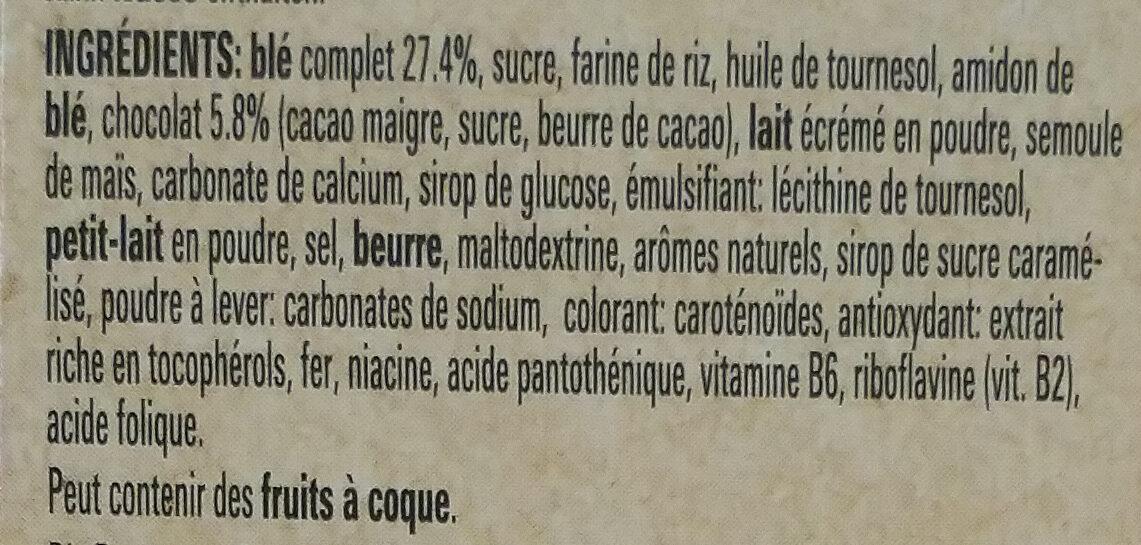 Lion wildcrush - Ingrediënten - fr