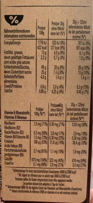 Lion wildcrush - Informations nutritionnelles - fr